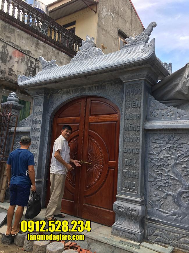 cổng nhà thờ họ đẹp nhất