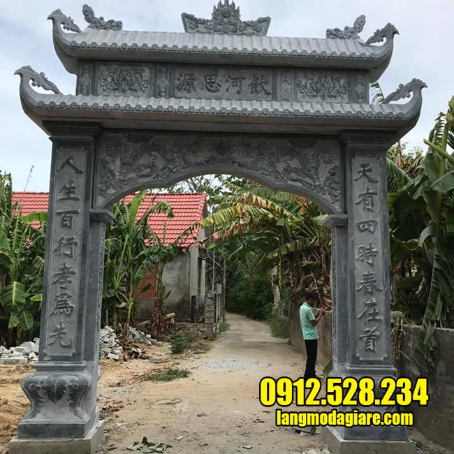 mẫu cổng nhà thờ họ đẹp nhất