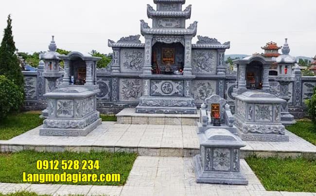 mẫu lăng mộ đá đẹp nhất tại Quảng Nam