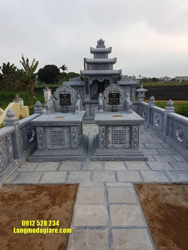 mẫu lăng mộ đá tại Quảng Nam đẹp nhất
