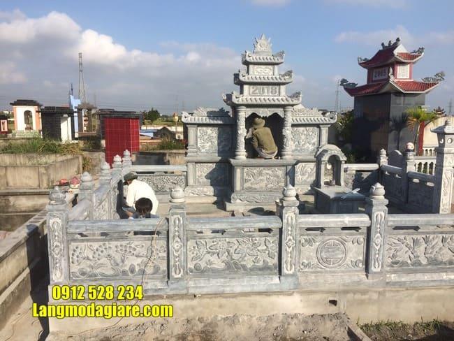 mẫu lăng mộ đá tại Quảng Nam