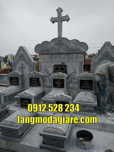 mẫu mộ bên đạo đẹp