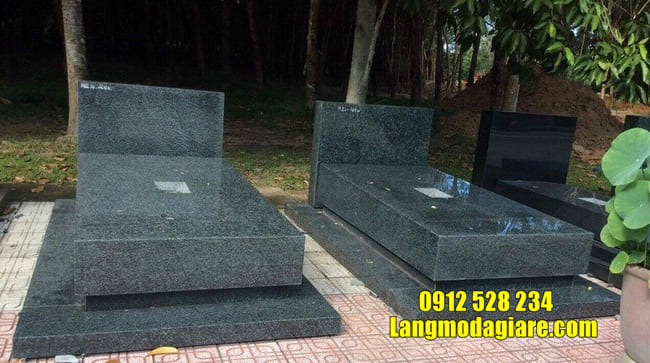 mộ đơn giản bằng đá đẹp