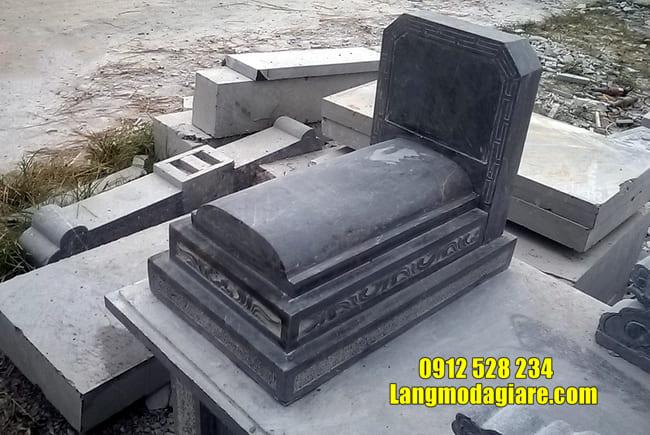 mộ đơn giản bằng đá đẹp nhất