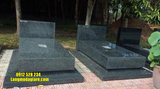 mẫu mộ đá hoa cương đẹp