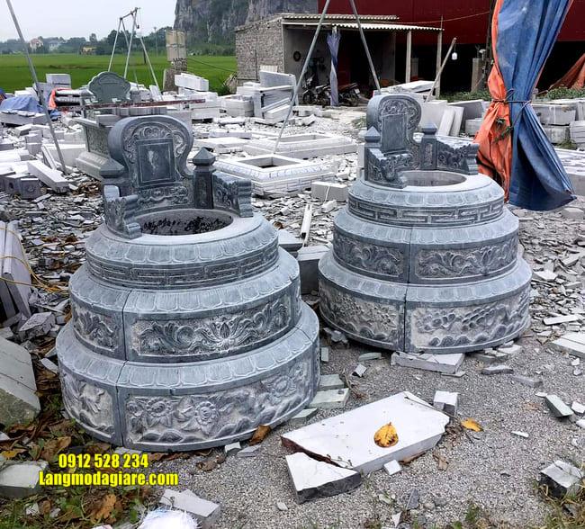 mẫu mộ tròn bằng đá đẹp nhất