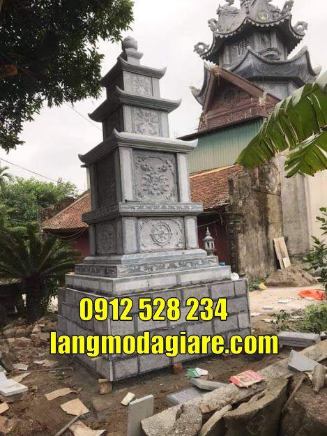 mẫu tháp mộ để hài cốt đẹp bằng đá