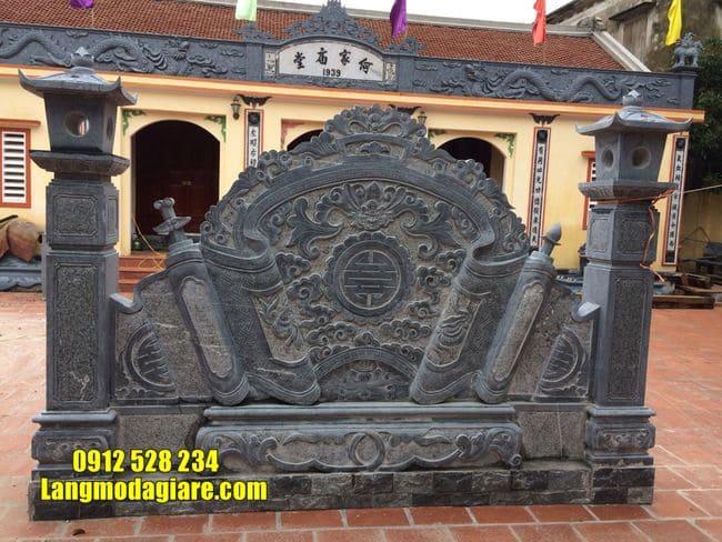 mẫu cuốn thư bằng đá tại Vĩnh Phúc đẹp nhất
