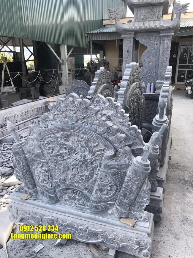 mẫu cuốn thư bằng đá tại Vĩnh Phúc đẹp