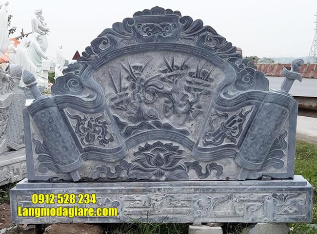 mẫu cuốn thư đá đẹp tại Vĩnh Phúc