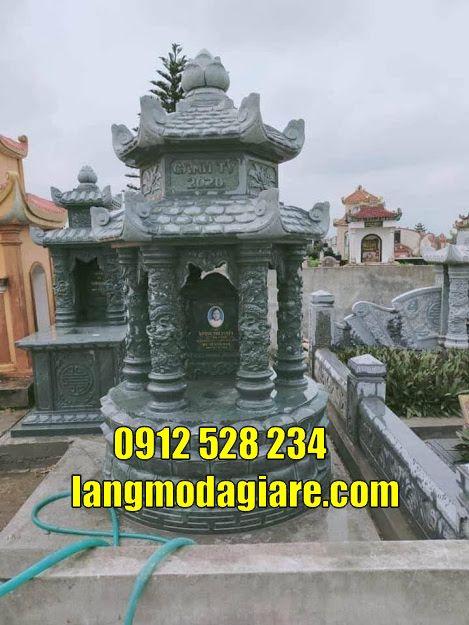 Mẫu tháp mộ để tro cốt tại  Đồng Tháp