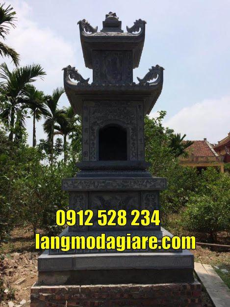 Một số Mẫu tháp mộ đẹp tại Đồng Tháp bằng đá