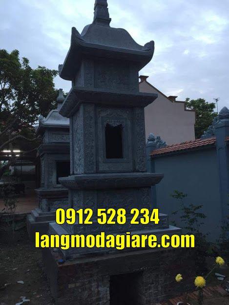 Mẫu mộ tháp đẹp để hài cốt tại Đắk Nông mẫu bảo tháp đẹp