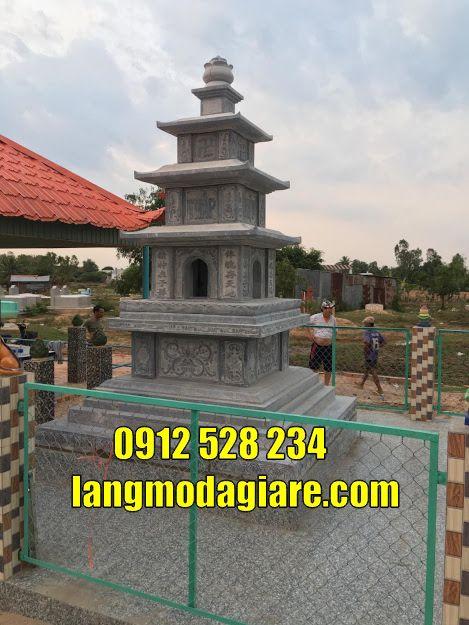 Mẫu tháp mộ cất tro cốt tại Đắk Nông