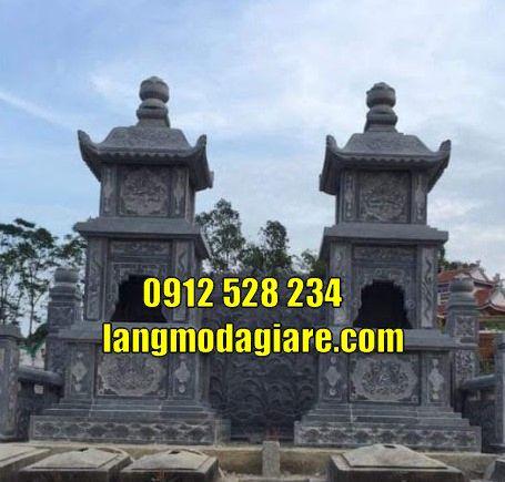 Mẫu tháp mộ để tro cốt bán tại Kon Tum