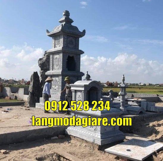 mẫu tháp mộ để tro cốt đẹp năm 2021