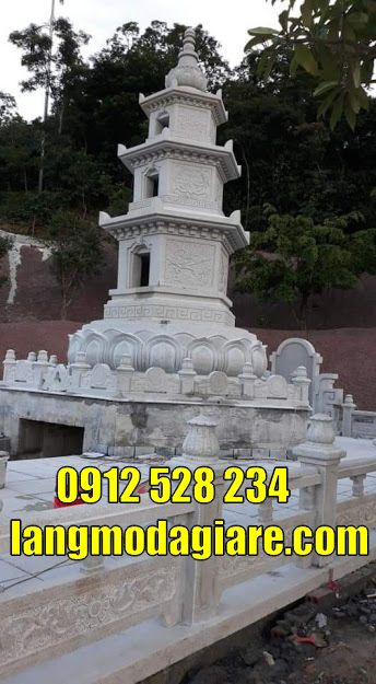 Mộ tháp phật giáo để tro cốt tại  Đắk Nông