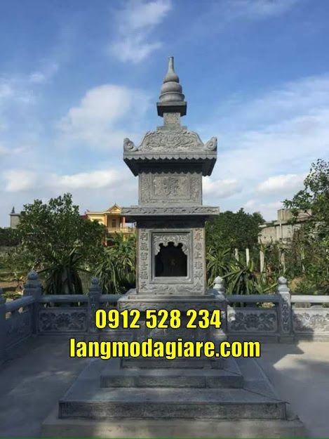 Tháp mộ phật giáo tại Trà Vinh
