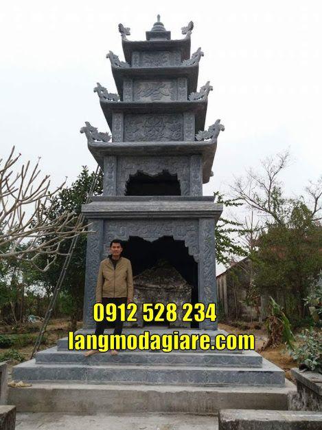 Tôn sư tháp đẹp cất tro cốt tại Trà Vinh