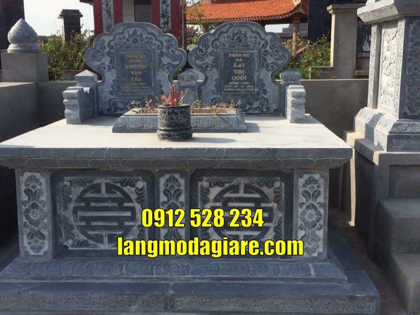 Bán và lắp đặt mẫu mộ đôi đẹp bằng đá tại Vũng Tàu