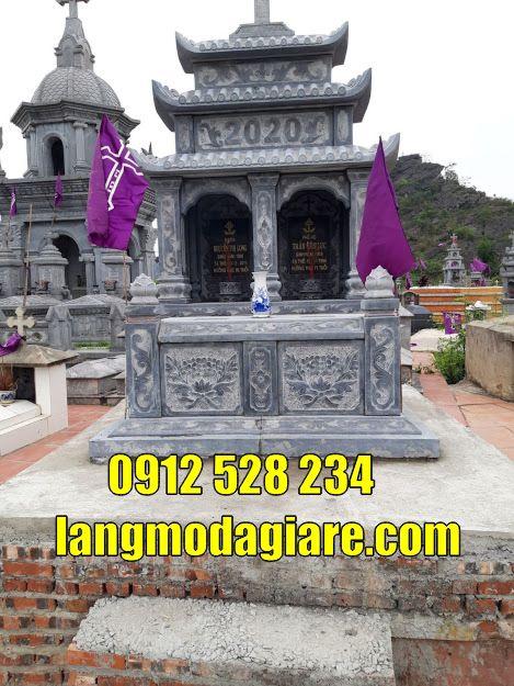 Địa chỉ bán các mẫu mộ đôi đẹp bằng đá tại Bình Phước