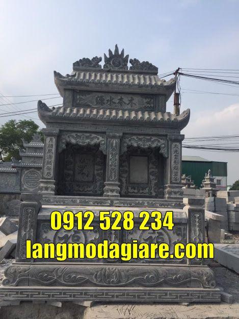 Mộ đôi bằng đá tại Tây Ninh