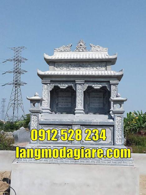 Một số mẫu mộ đôi bằng đá bán tại Bình Phước