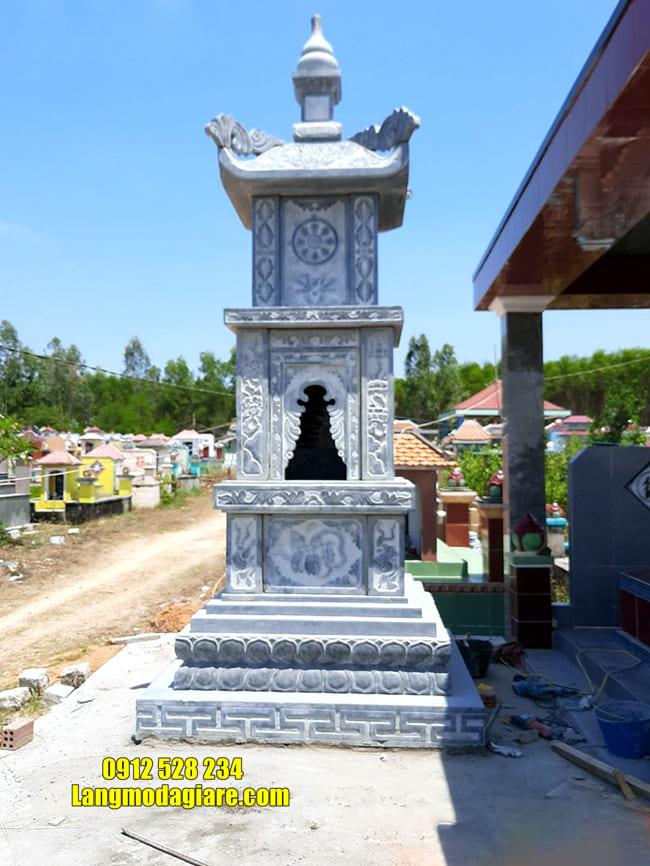 Tháp mộ đá đẹp để tro cốt tại Quy Nhơn