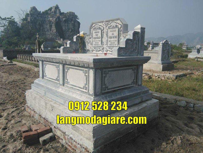 Tổng hợp các mẫu mộ đôi đẹp kích thước chuẩn phong thủy bán tại Sài Gòn