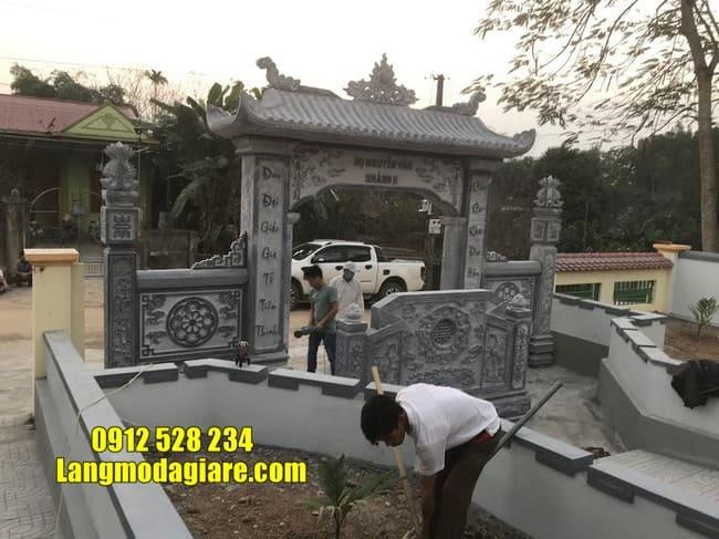 các mẫu cổng nhà thờ họ đẹp tại Hà Nam