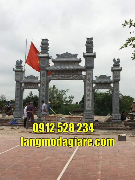 Cổng chùa đẹp bán tại Sóc Trăng Cổng đá tam quan