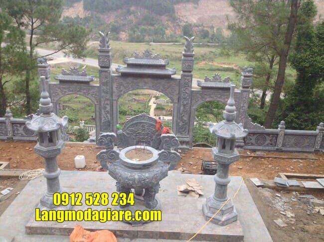 cổng đá đẹp nhất tại Vĩnh Phúc