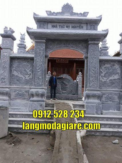 Cổng làng cổng đình đẹp bằng đá  bán tại Hải Dương