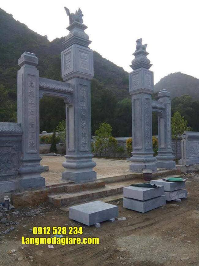 cổng tam quan đá đẹp nhất tại Vĩnh Phúc