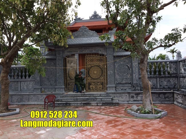 cổng tam quan đẹp tại Vĩnh Phúc