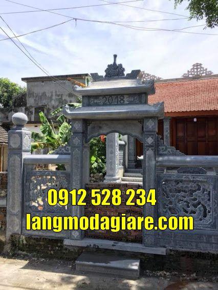 Mẫu cổng chùa đẹp bằng đá bán tại Tiền Giang