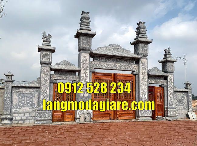 Mẫu cổng đá đẹp bán tại  hà tĩnh Cổng đình làng bằng đá bán tại  hà tĩnh