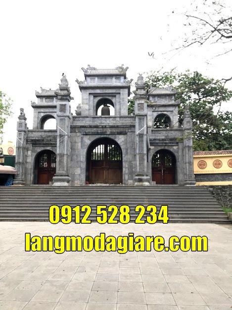 Mẫu cổng đình làng đẹp bằng đá tại  quảng ninh cổng đá tại quảng ninh