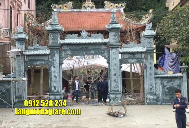 mẫu cổng nhà thờ họ đẹp nhất tại Hà Nam