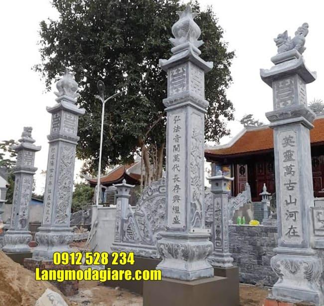 mẫu cổng tam quan bằng đá tại Vĩnh Phúc