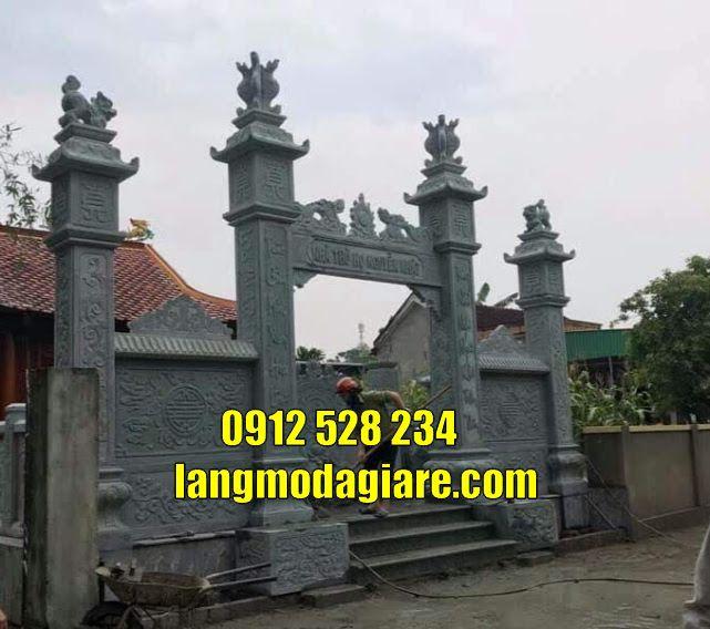 Thiết kế kiểu cổng tam quan đẹp bán tại Sóc Trăng