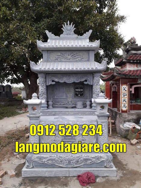 16 mẫu mộ đôi bằng đá đẹp có độ bền cao giá thành tốt bán tại Tiền Giang