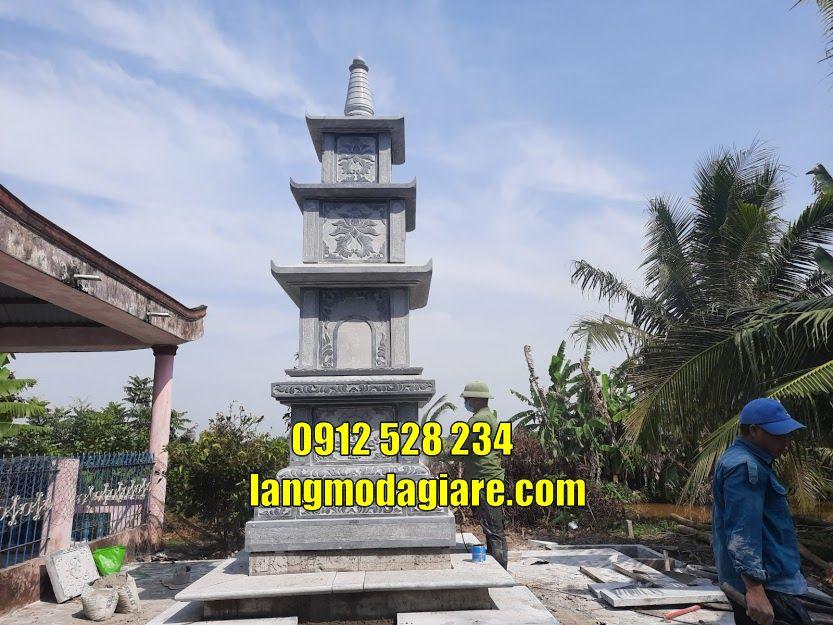 Bán mẫu mộ tháp phật giáo để tro cốt tại Đà Nẵng Tháp chuông