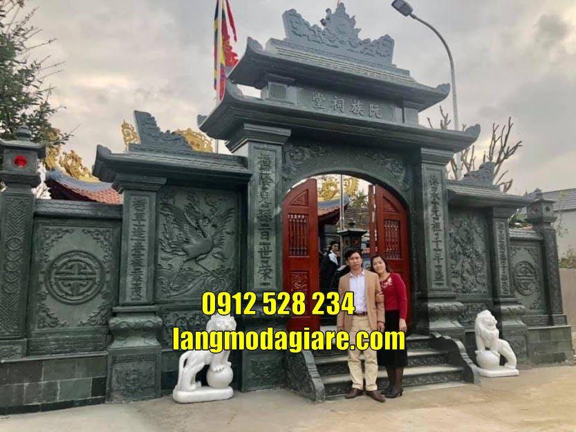 Các mẫu cổng tam quan đẹp bán tại Bình Dương mẫu cổng chùa đẹp