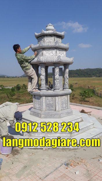 Các mẫu mộ tháp phật giáo bán tại Khánh Hòa Tháp mộ đẹp