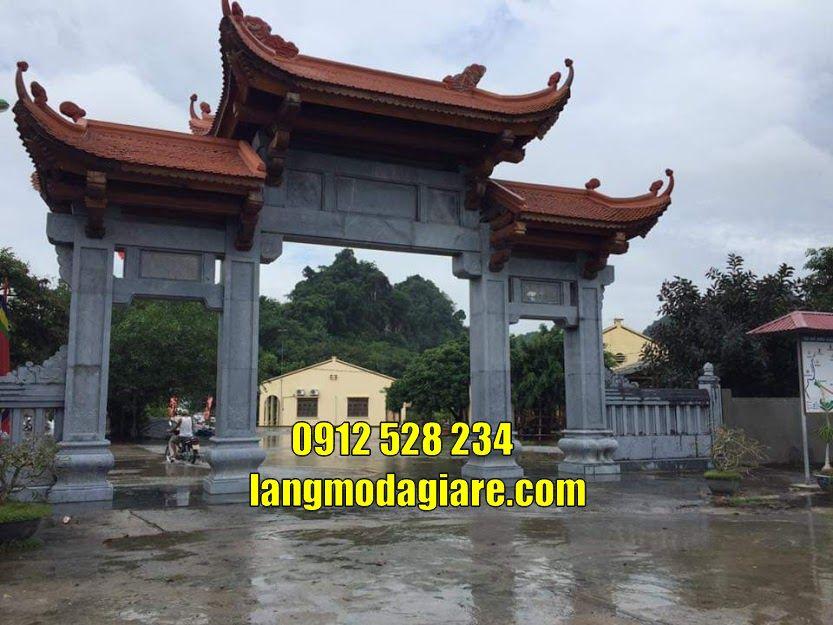 Mẫu cổng chùa đẹp bán tại Đồng Nai cổng đá tam quan tại Đồng Nai
