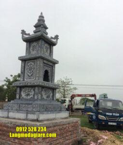Mẫu tháp mộ đẹp bằng đá để thờ hũ tro cốt tại Nha trang Khánh Hòa