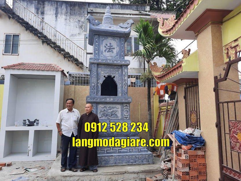 Mộ tháp phật giáo để tro cốt tại Đà Nẵng Tháp chuông