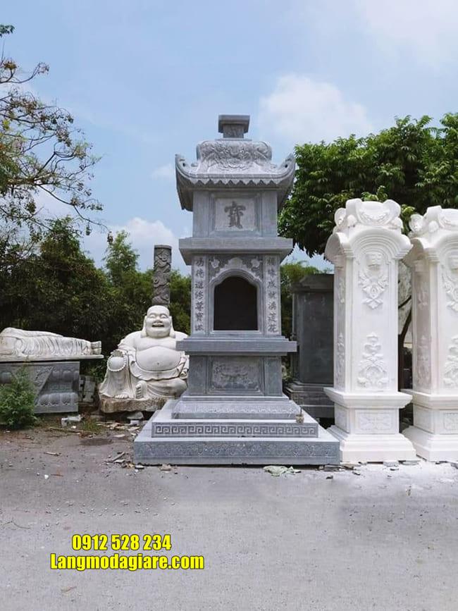 Tháp đẹp để hũ tro cốt tại Khánh Hòa
