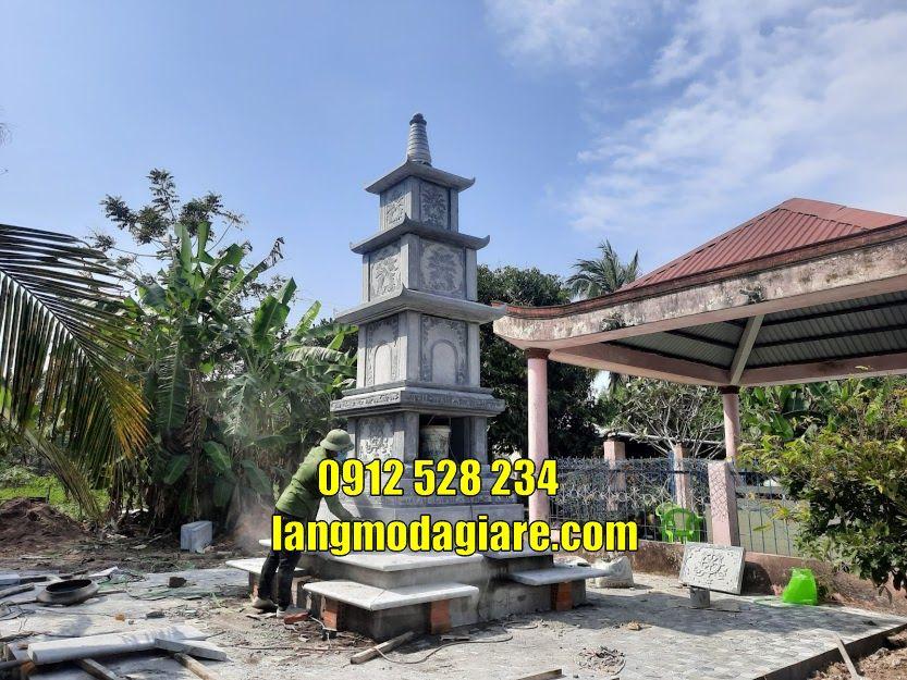 Tháp mộ đẹp cất tro cốt bán tại Đà Nẵng Tháp chuông